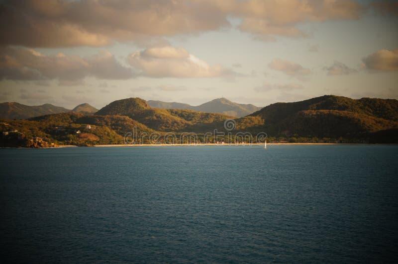 风景海岛 库存图片