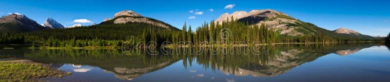 风景湖的山 图库摄影