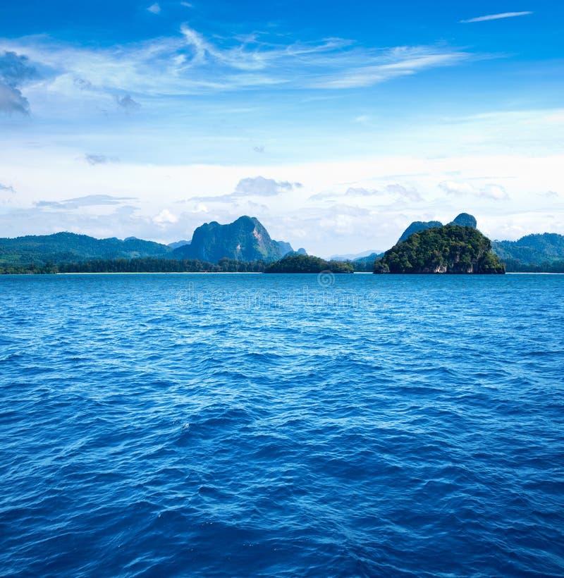 风景热带 库存图片
