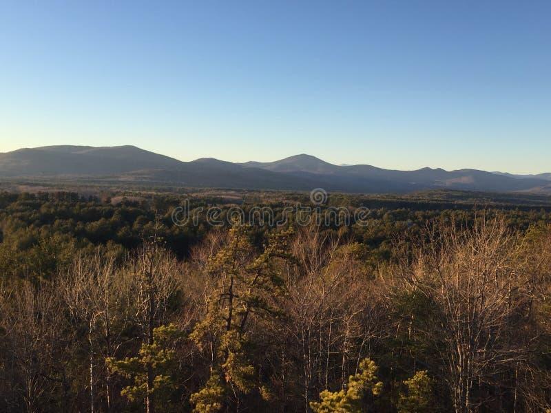 风景的山 库存照片