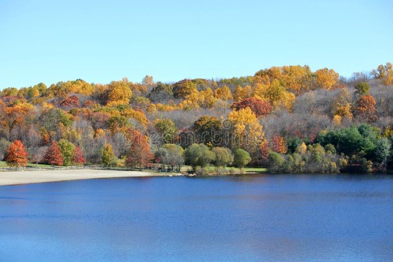 风景的秋天 免版税库存照片