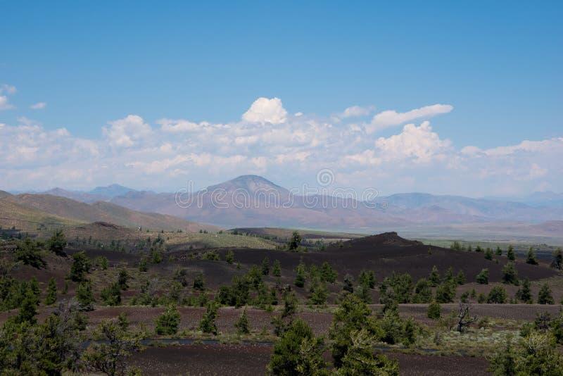 风景看法在爱达荷 免版税库存图片
