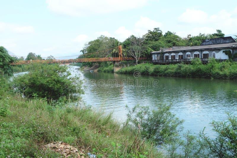 风景老挝 免版税库存照片