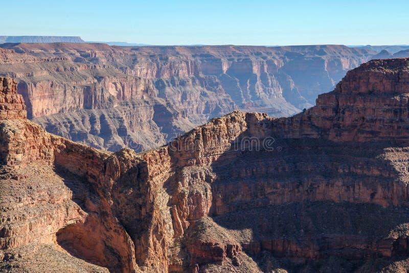 风景老鹰点看法在美国的大峡谷国家公园 免版税库存照片