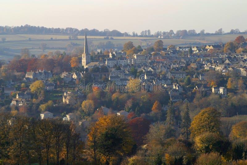 风景Cotswolds, Painswick 库存照片