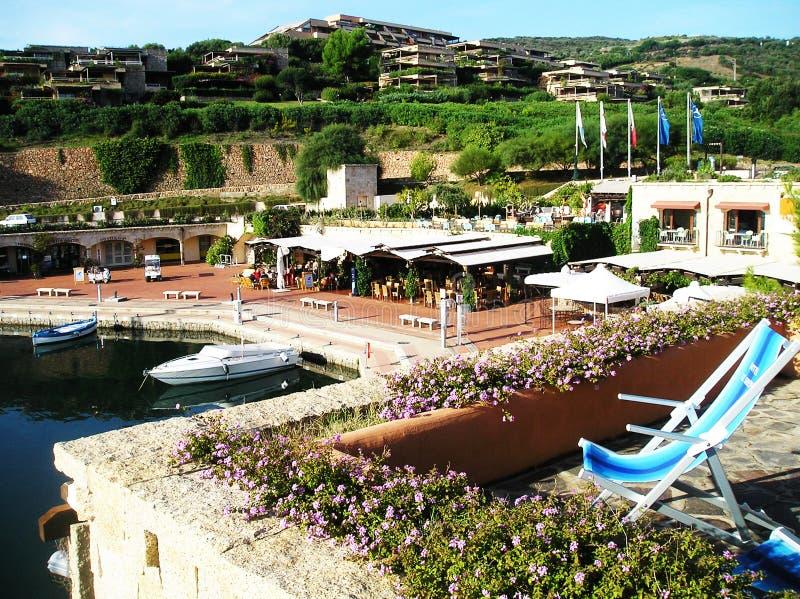 风景Portisco,撒丁岛 免版税库存照片