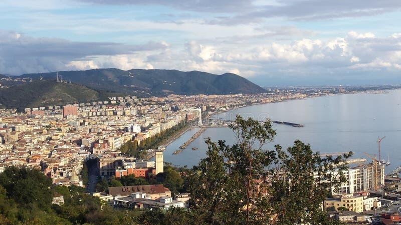 风景salerno 免版税库存图片