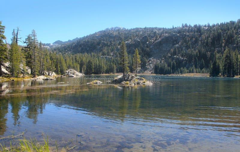 风景Woods湖 免版税库存照片