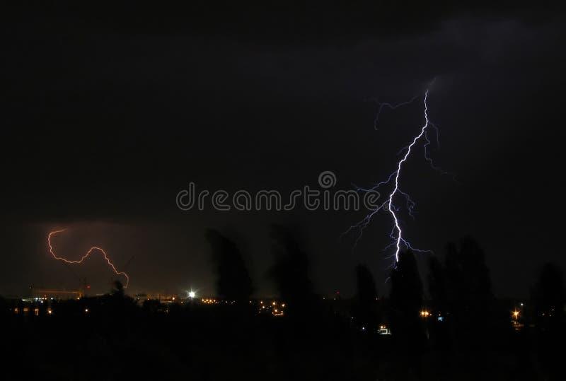 风暴雷 库存照片