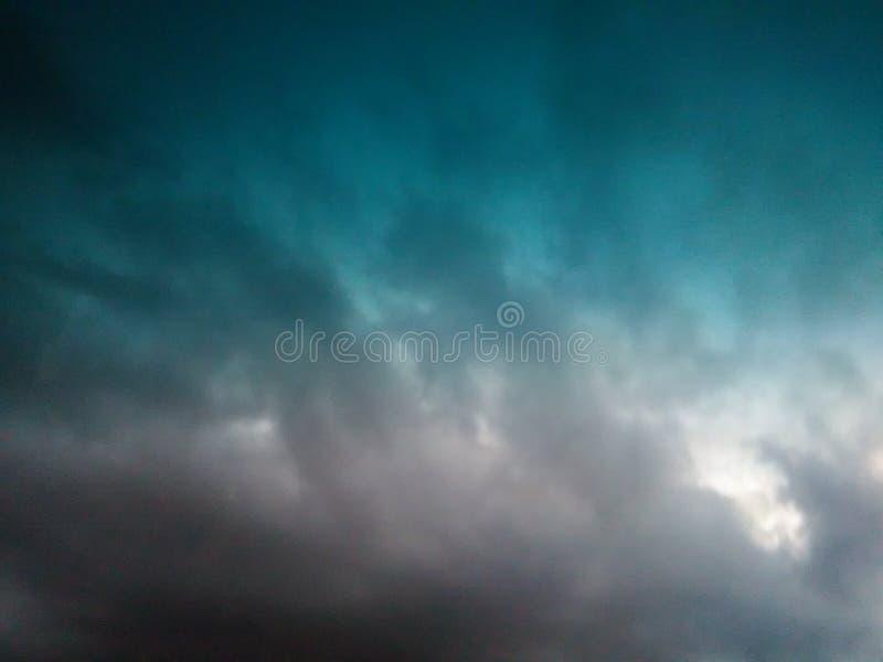 风暴 库存图片