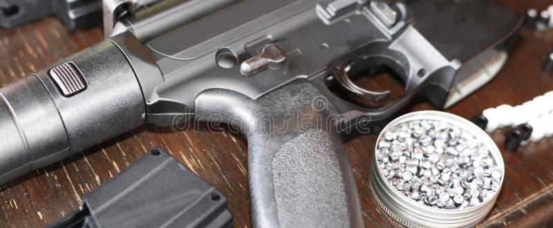 风枪和猎枪 库存照片