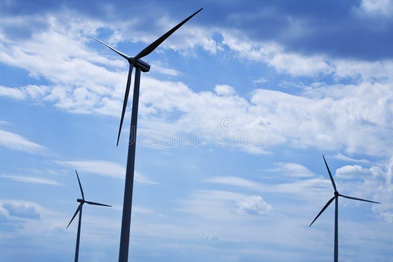 风的能源 图库摄影