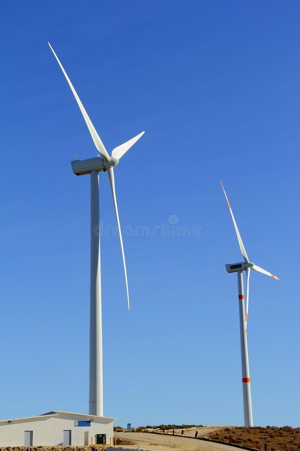 风的能源II 库存图片