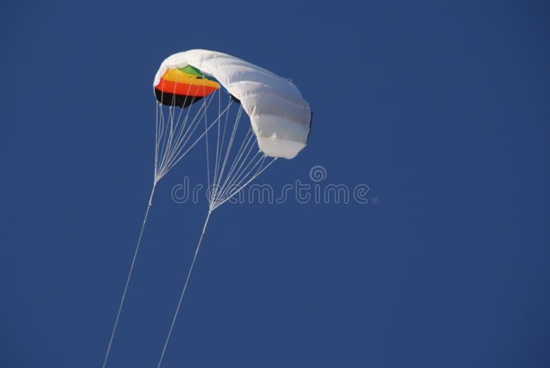 风筝在天空中 库存图片