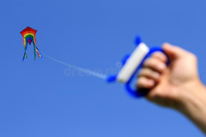 风筝天空 库存图片