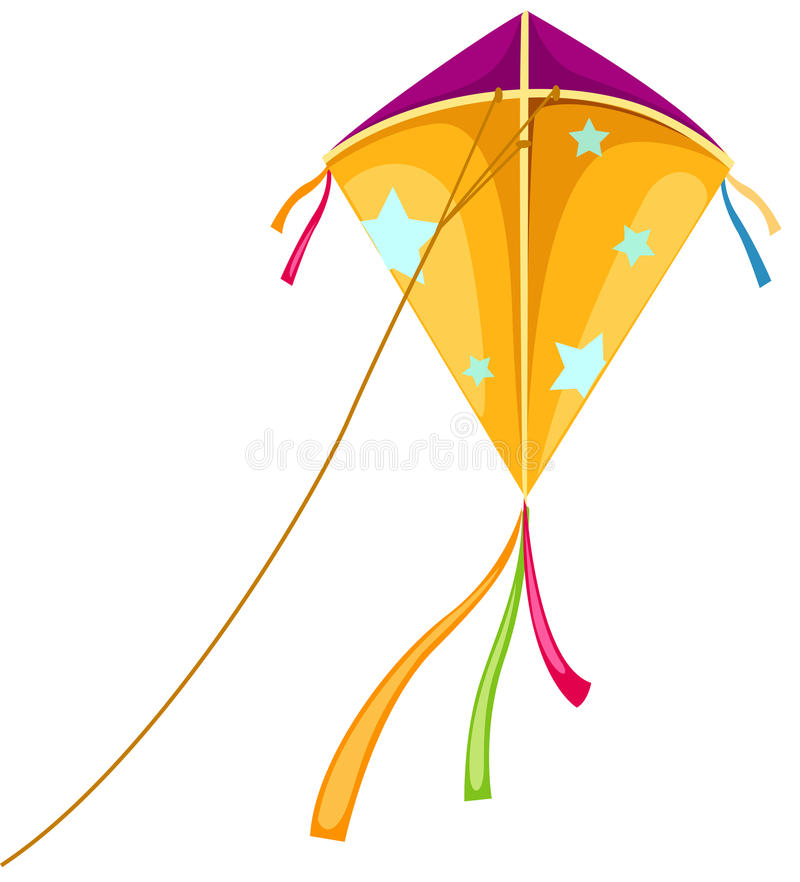 风筝 向量例证