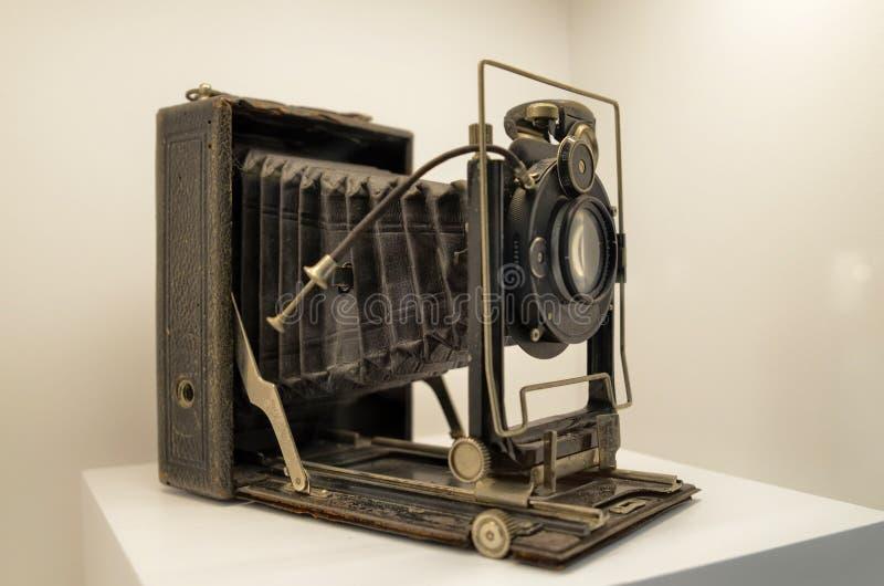风箱照相机 库存照片