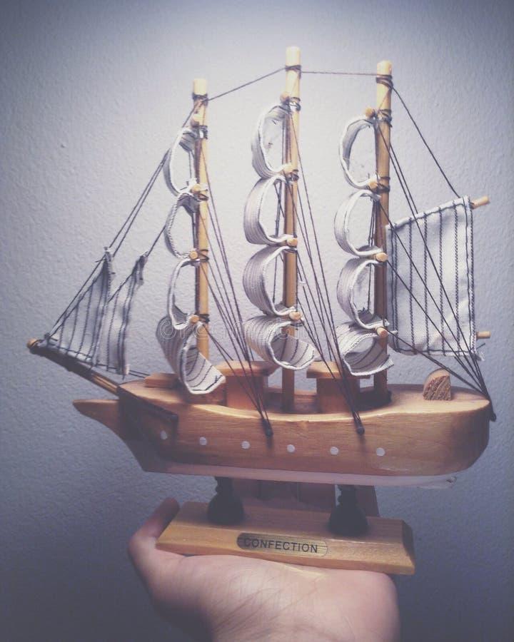 风船模型 库存图片