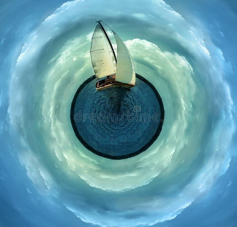 风船 图库摄影