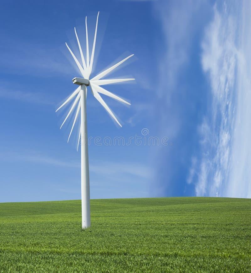 Download 风车发电器。 库存图片. 图片 包括有 生成器, 绿色, 创新, 磨房, 行业, 室外, 自然, 保护, 远期 - 30328469
