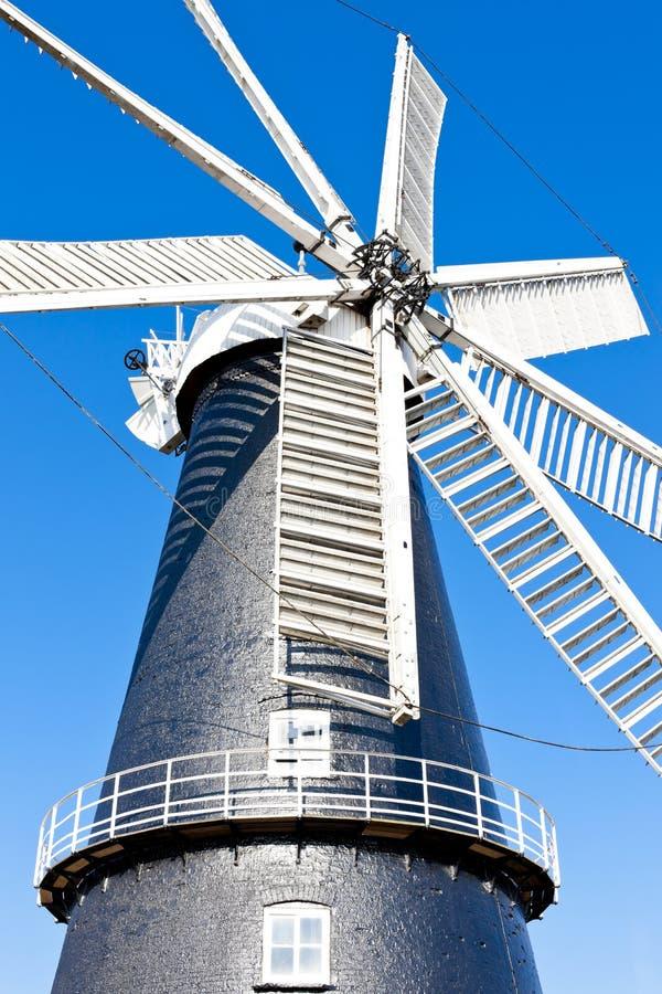 风车在Heckington 免版税图库摄影