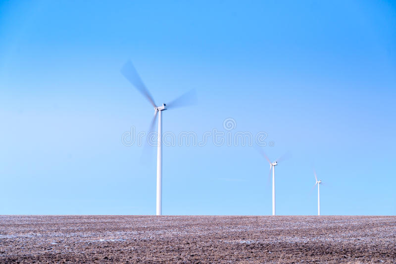 风车 免版税库存照片