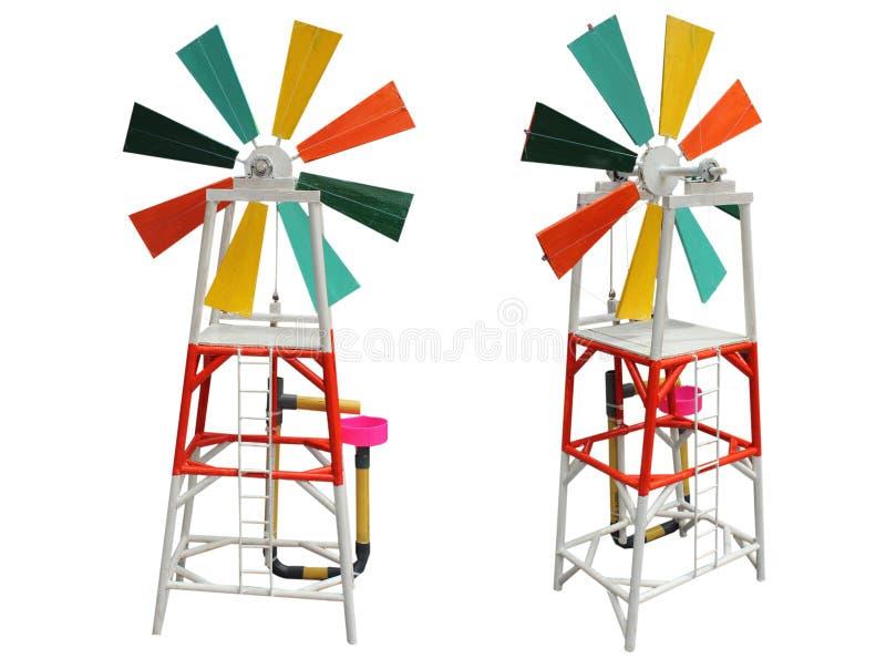 风轮机节能 免版税库存图片