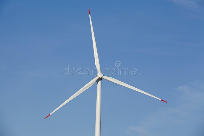 风轮机-电动子 免版税库存图片