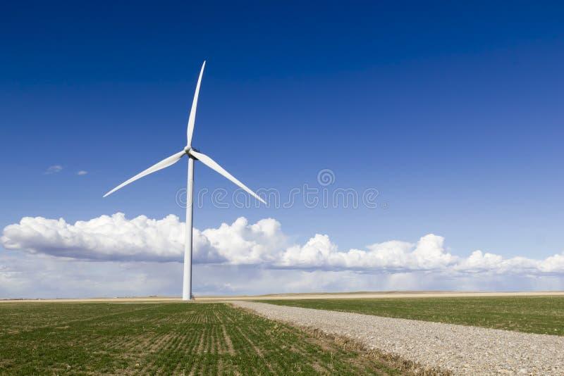 风轮机 免版税库存照片