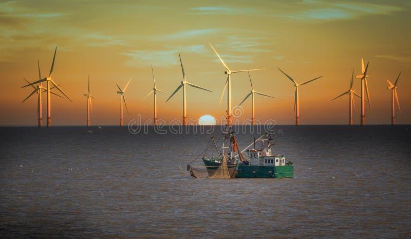 风轮机 图库摄影