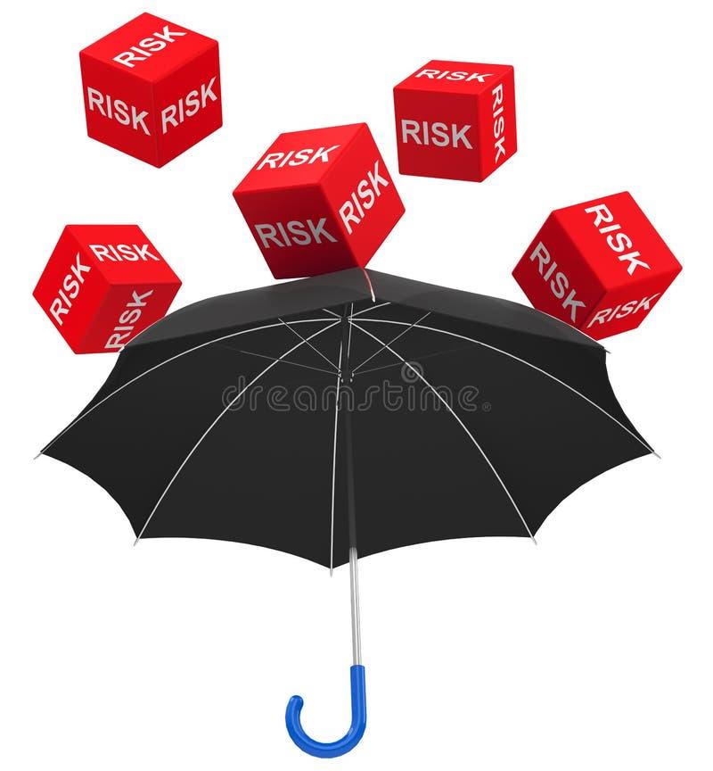 风险保护 向量例证