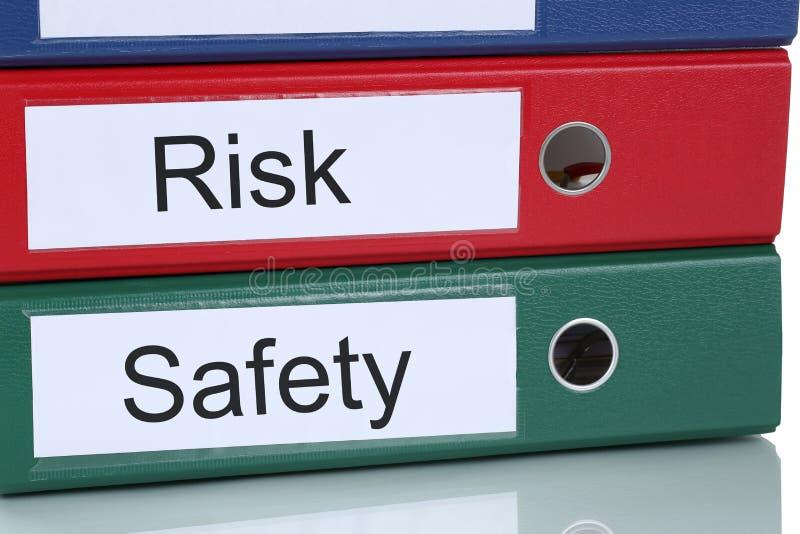 风险和安全管理分析在公司企业概念 库存图片