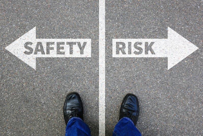 风险和安全管理评估分析公司事务 库存图片