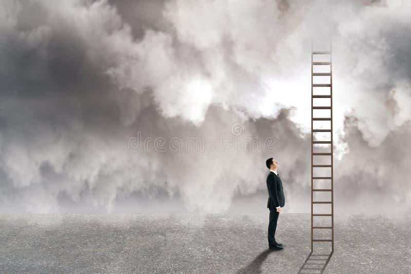 风险和挑战概念 免版税库存图片