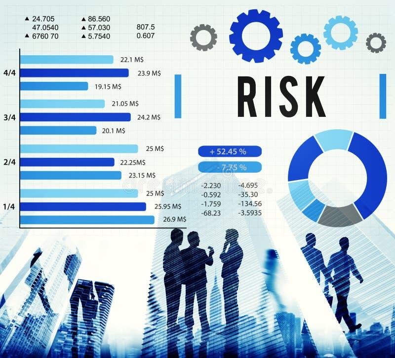 风险管理不平稳的安全安全概念 图库摄影