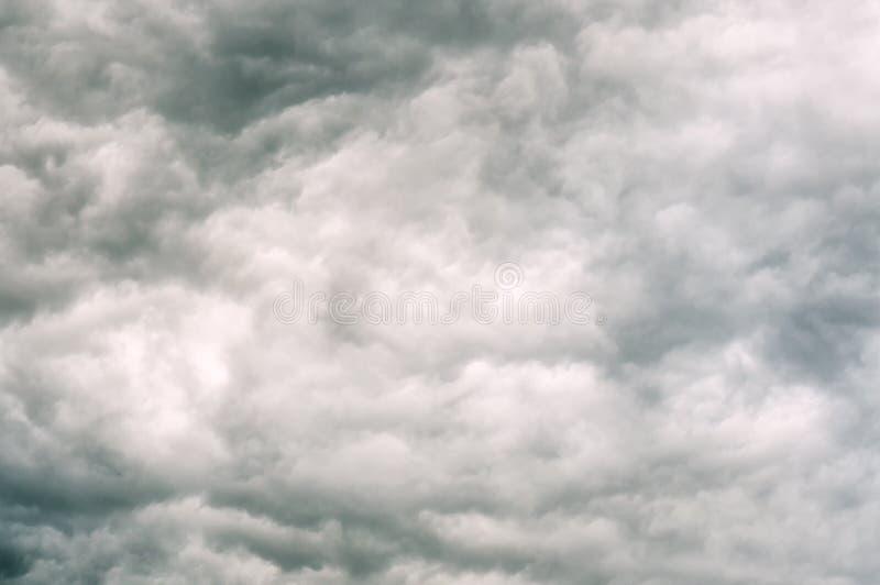 风雨如磐的云彩纹理 免版税图库摄影