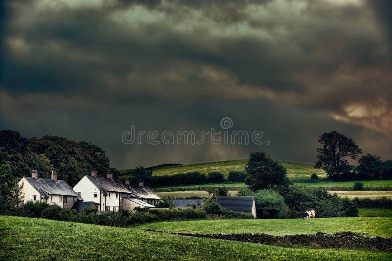 风雨如磐的哈姆雷特 库存照片