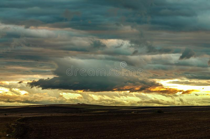 风雨如磐的早晨5 免版税图库摄影