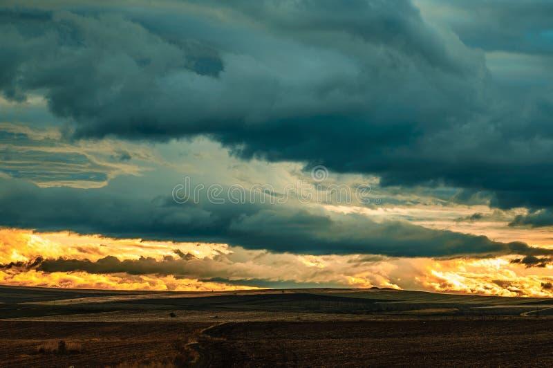 风雨如磐的早晨5 库存照片