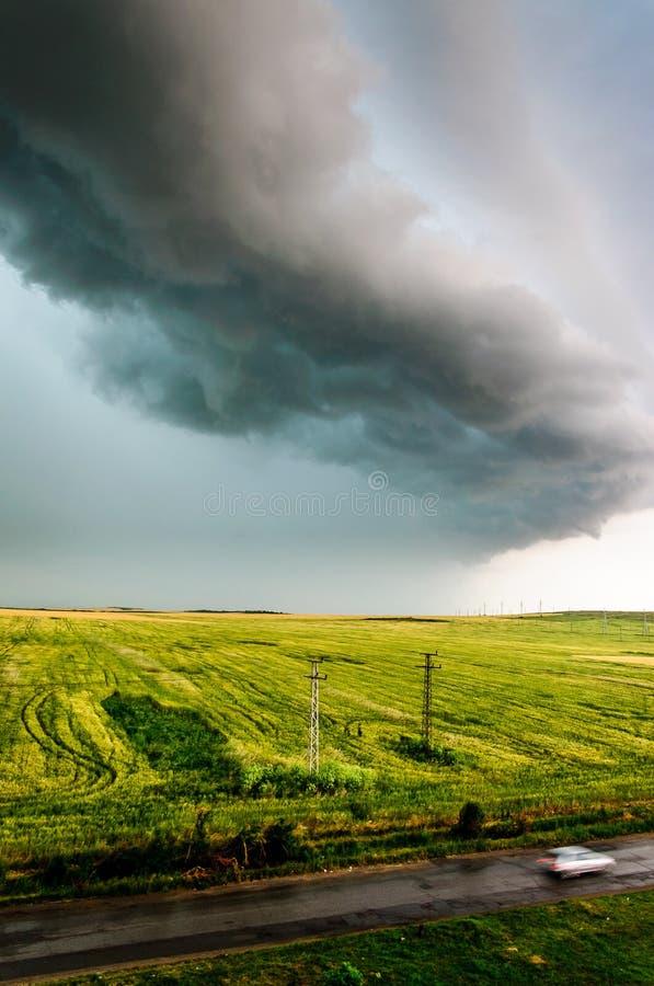 风雨如磐的早晨 图库摄影