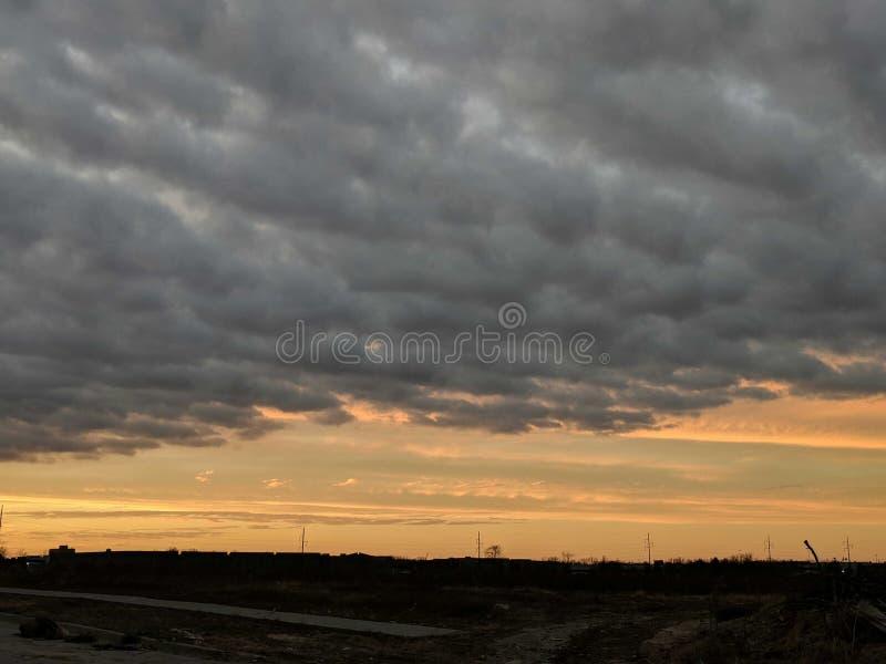 风雨如磐 图库摄影
