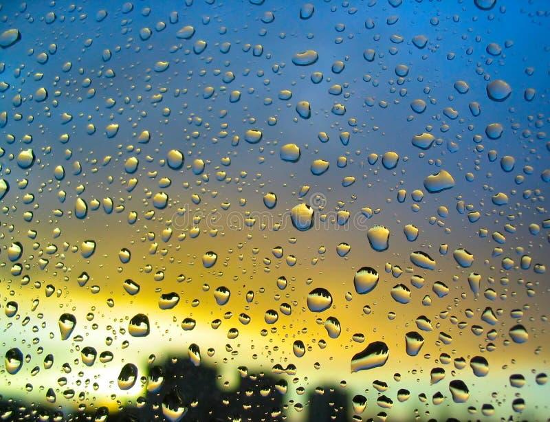 风雨如磐2的小滴 免版税库存照片