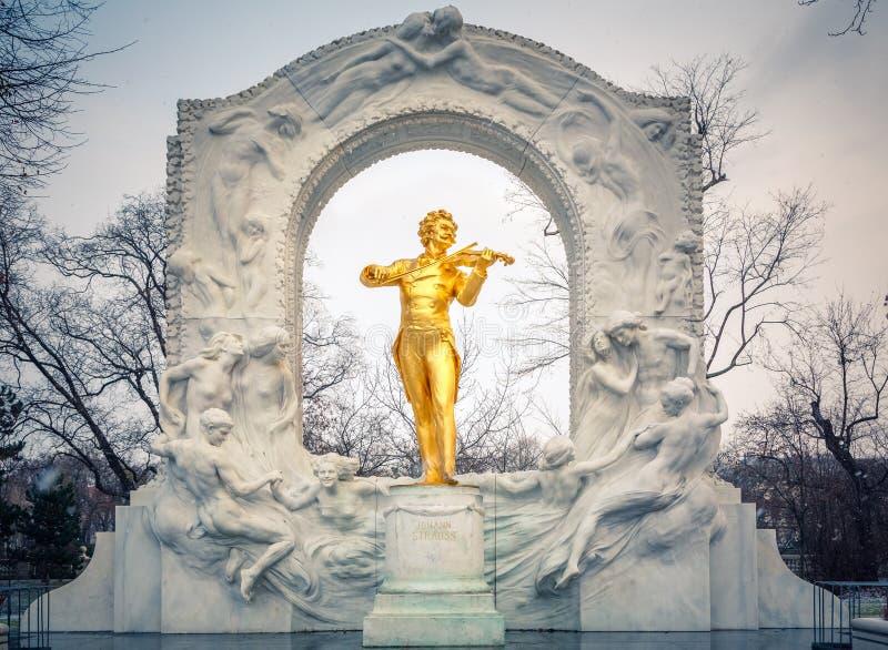 暴风雪的Strauss 免版税库存照片