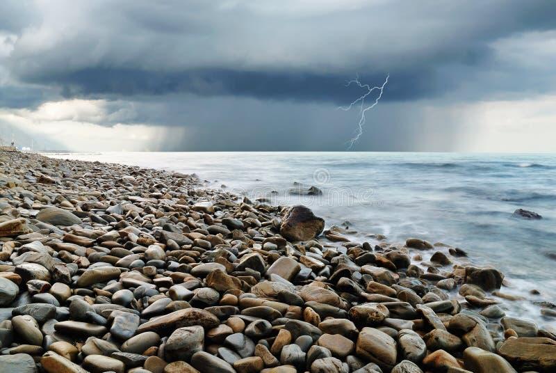 风暴到达 库存图片