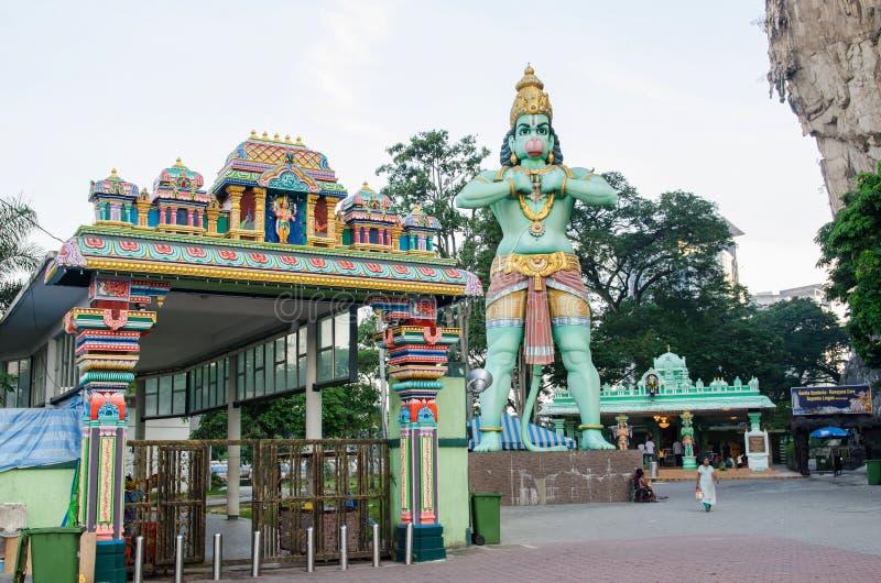 黑风洞的入口在吉隆坡马来西亚 库存图片