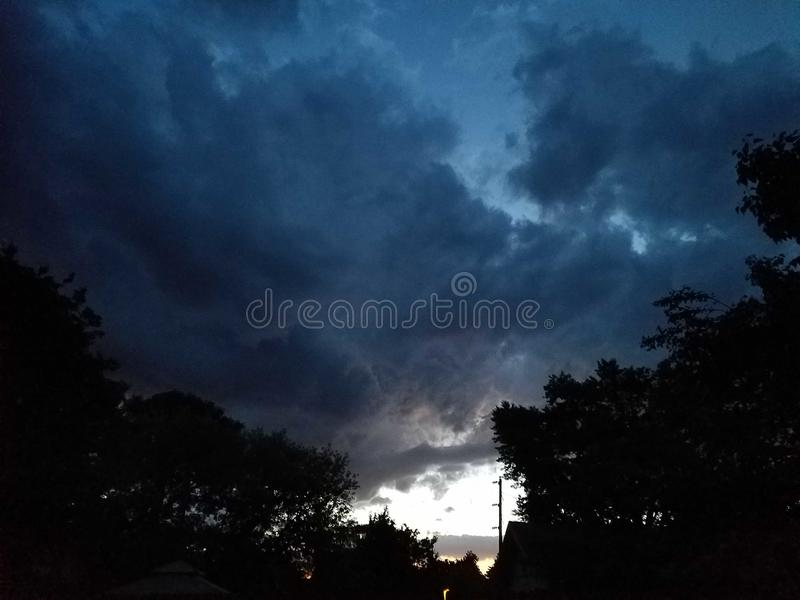 风暴 库存照片