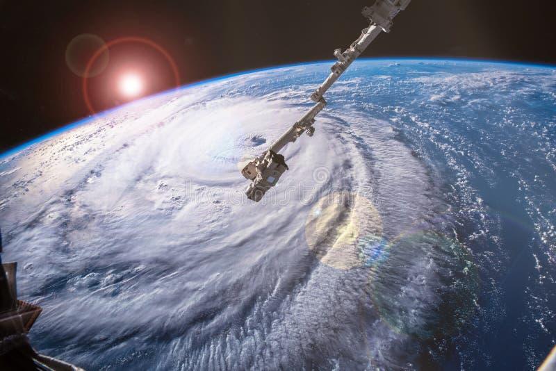 飓风佛罗伦萨 免版税库存照片