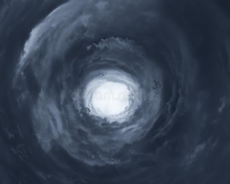 飓风的眼睛 免版税图库摄影