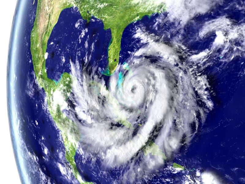 飓风马修 库存例证