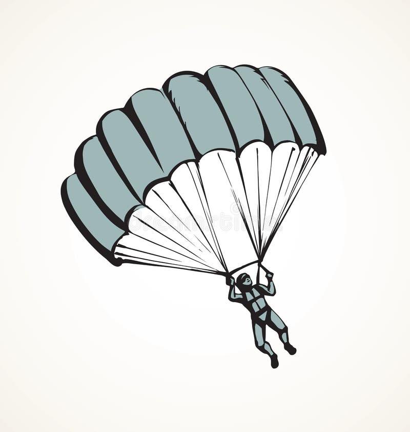 飞将军传染媒介图画 向量例证